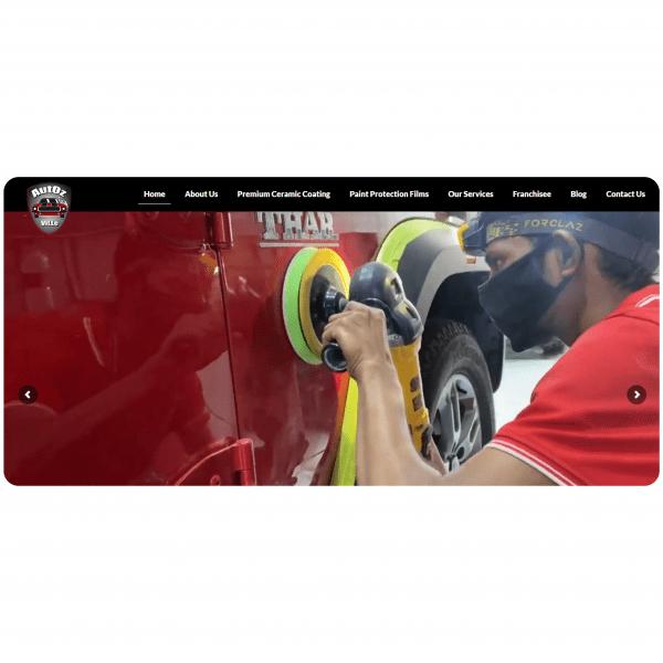 autozville-website development project-niostarstechnologies-